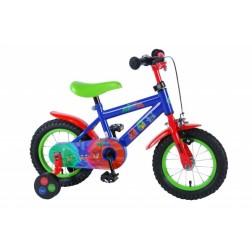 Bicicleta pentru baieti 12 inch, cu roti ajutatoare, PJ Masks
