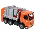 Camion de gunoi din plastic pentru copii Lena licenta Mercedes Benz 74 cm 3 containere incluse