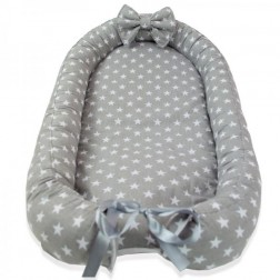 Baby Nest MyKids - Stars Grey