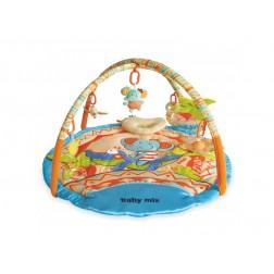 Covoras de joaca pentru bebelusi Baby Mix 3304C-21 Little Elephant