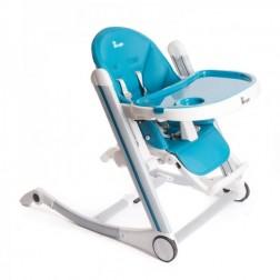 Scaun inaltator de masa pentru copii reglabil Albastru - Bo Jungle