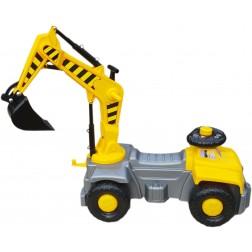 Camion cu excavator rotativ Pick Up Super Plastic Toys