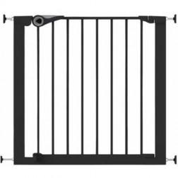 Poarta de siguranta Easy Fit presiune 75-82 cm metal negru Noma