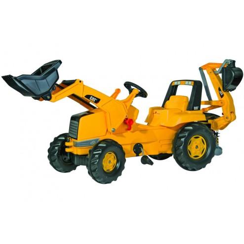 Tractor Cu Pedale pentru Copii ROLLY TOYS 813001 Galben001 Galben