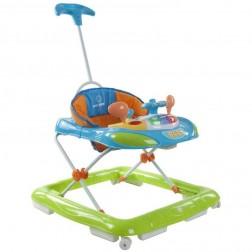 Premergator cu control parental Super Car - Sun Baby - Albastru cu Verde
