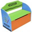 Bancuta pentru depozitare jucarii Blue Crayon