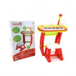 Jucarie Vitamina G Orga electronica cu scaunel copii - Globo