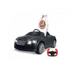 Masinuta electrica copii Bentley GTC neagra Jamara 9V cu telecomanda control parinti