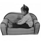 Canapea extensibila din burete pentru copii Pony Trade