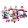 Set cuburi constructie Centru comercial Hello Kitty - Unico