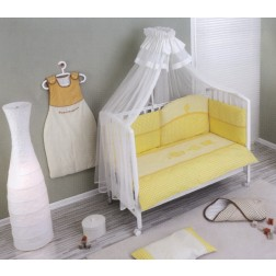 Lenjerie de pat Nino 3BB+1- Morada yellow