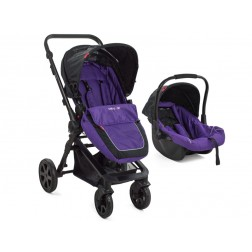 Carucior copii transformabil 3 in 1 MyKids BabyGo Purple