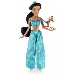 Papusa Printesa Disney Jasmine cu animal de companie