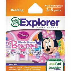 Soft educational LeapPad Disney - Buticul lui Minnie