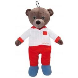 Jucarie din plus pentru depozitarea pijamalutelor Micul Urs Brun