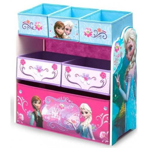 Organizator jucarii cu cadru din lemn Disney Frozen