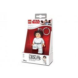 Breloc cu lanterna LEGO Star Wars Prin?esa Leia (LGL-KE109)