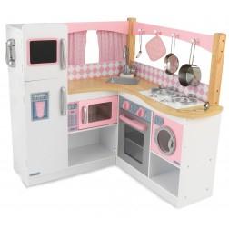Bucatarie lemn pentru copii Grand Gourmet - KidKraft