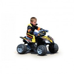 ATV Quad Electric pentru copii Jamara cu 2 viteze si acumulator 12V 7Ah