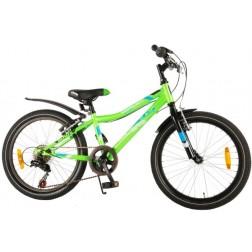 Bicicleta verde pentru baieti 20 inch, cu 6 viteze, Volare Blade