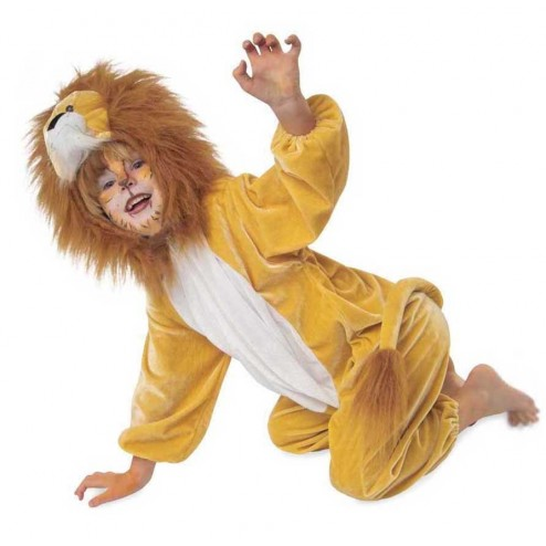 Costum pentru deghizare Leu 116 cm