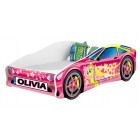 Pat Tineret Race Car 08 Pink 180x6 - MyKids