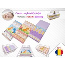 Saltea Fibra Cocos Economy I Color 120x60x7cm, MyKids
