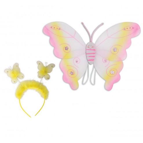Set accesorii Fluturas Galben