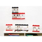 Cutie neagra pentru 16 minifigurine LEGO