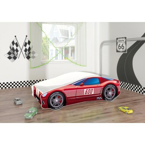 Pat Tineret Race Car 01 Red 160x80 - MyKids