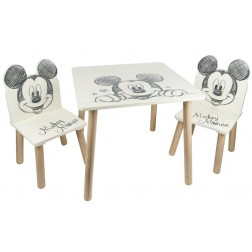 Set masuta si 2 scaunele Mickey Mouse - Global