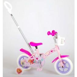 Bicicleta copii Volare Paw Patrol cu maner parental si roti ajutatoare