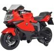 Motocicleta electrica BMW K130S rosie cu sunete si lumini copii - Globo