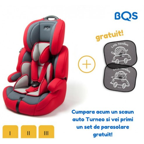 BEL123R Scaun auto Turneo 9-36 kg Red, BQS