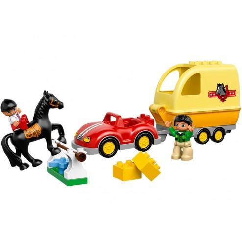 Masina cu remorca pentru cai (10807)