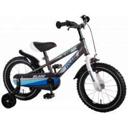 Bicicleta pentru baieti 14 inch, cu roti ajutatoare, Volare Blade