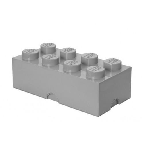 Cutie depozitare LEGO 2x4 gri
