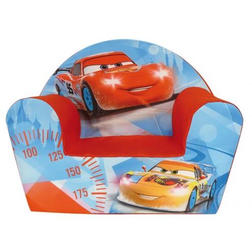 Fotoliu din burete Disney Cars