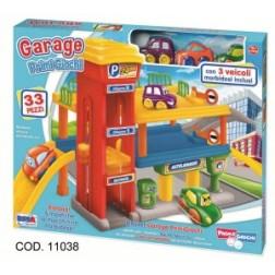 Garaj cu etaje si  vehicule incluse, RS Toys