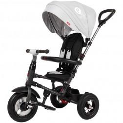 Tricicleta pliabila cu roti gonflabile Qplay Rito - Sun Baby - Grey
