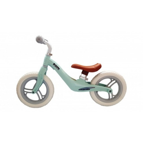 Bicicleta fara pedale 12 inch Albastra roti EVA - SKILLMAX