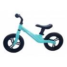 Bicicleta fara pedale 12 inch Albastra foarte usoara 2kg inaltime reglabila roti EVA cadru magneziu