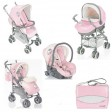Carucior Millestrade sistem 3 in 1 - Hello Kitty Brevi