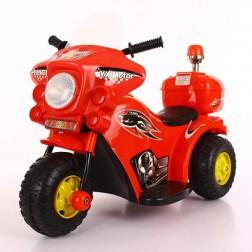 Motor electric pentru copii 6V rosu