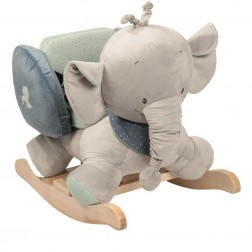 Balansoar cu protectii laterale Elefantelul Jack
