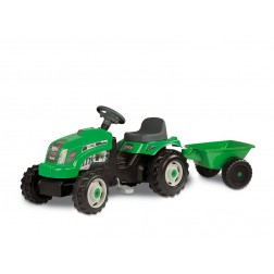 Tractor copii Smoby XL 033329 cu remorca si pedale