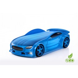Pat masina tineret MyKids NEO Mercedes Albastru