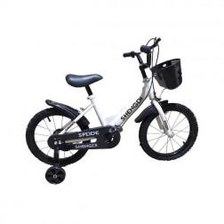 Bicicleta 16 inch alba