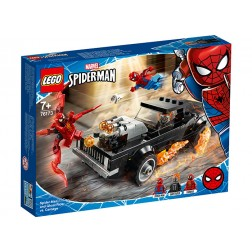 LEGO Spider-Man si Ghost Rider vs. Carnage