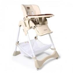 Scaun de masa pentru copii Cangaroo Chocolate Beige